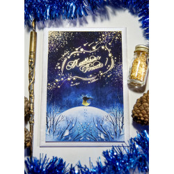 "Greeting Card ""Shooting Stars"""