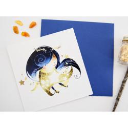 """Postcard """"Tiny Faun"""""""