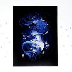 "A4 Print ""Abyssal Mermaid"""
